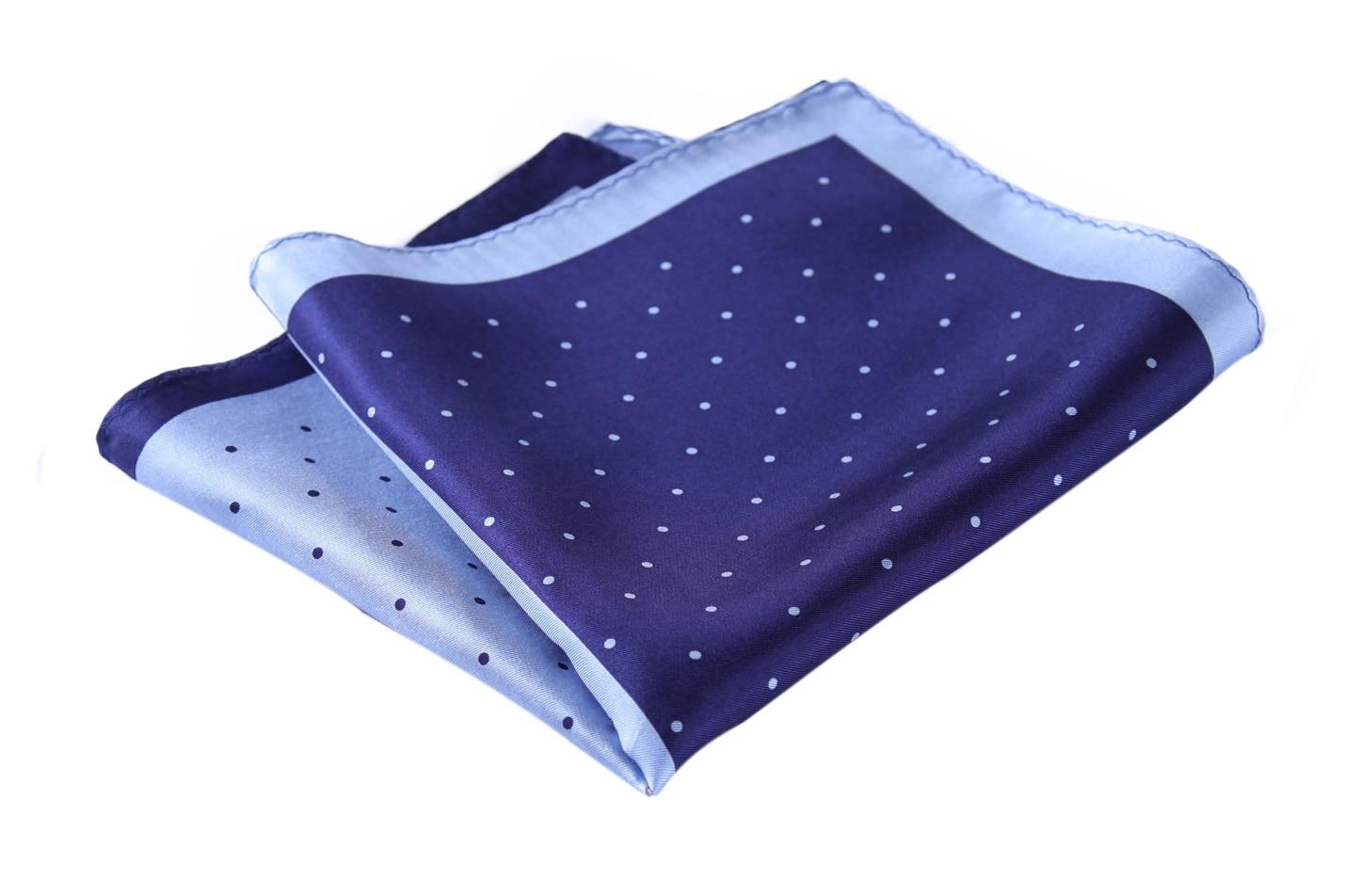HN14V Handkerchief 100% Natural Silk Satin Mens Hanky Wedding Pocket Square
