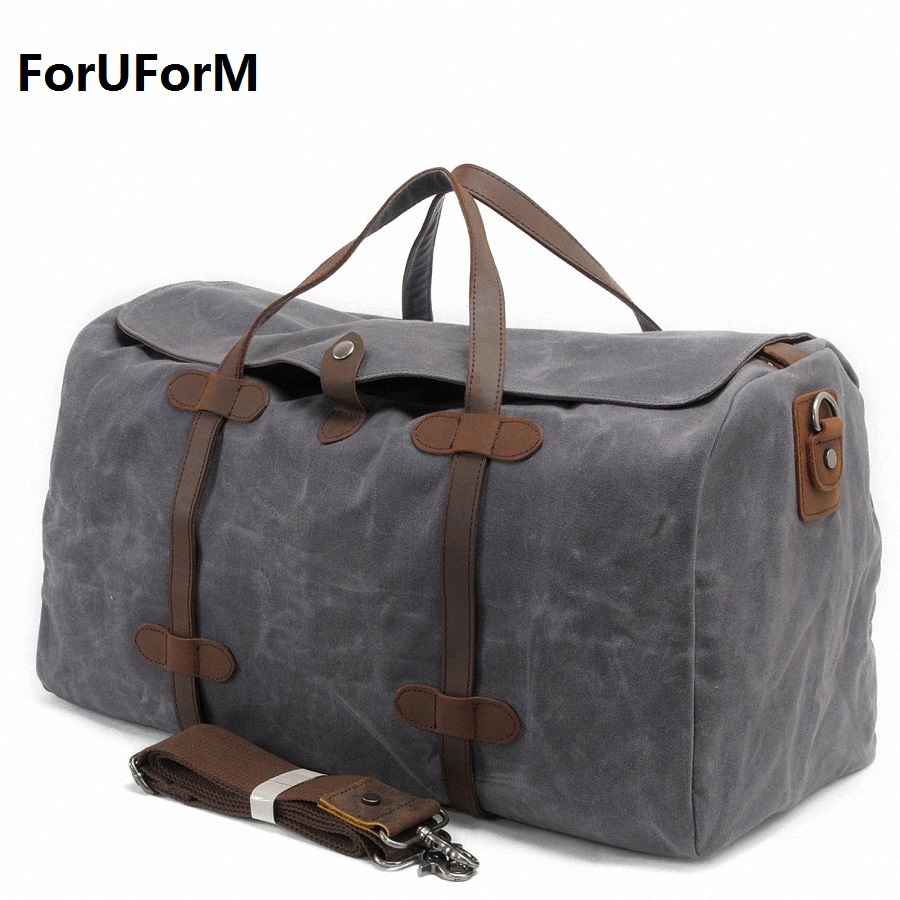 Male Large Capacity Travel bag Men Carry On Luggage Duffle Bag Women Waterproof Canvas Weekend Bags