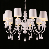 Mediterranean style dining Multiple Chandelier Rome drop gourd New room bedroom lamp living room lamp country ZH