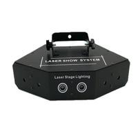Hot sell RGB Laser DMX512 LED Stage Lights Scanner DJ Light Effect Laser Projector Disco Beam Laser Stage lighting effect