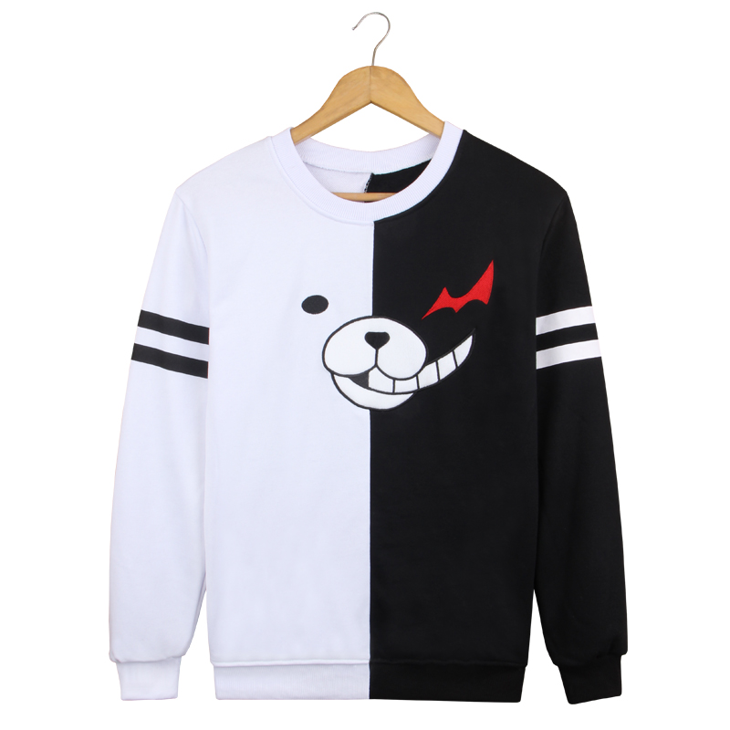 Spring Autumn Dangan Ronpa long sleeve T-shirt Danganronpa Hoodies Sweater casual Blouse women sweatshirt sweaters and pullovers