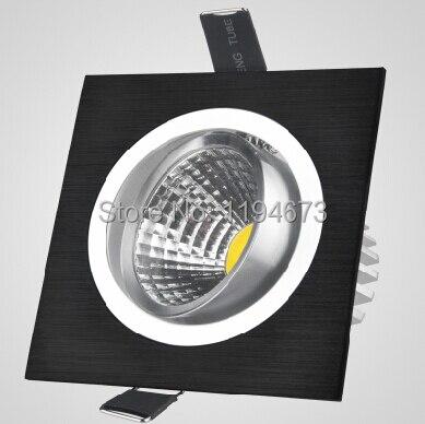 Бесплатная Доставка 10 Вт площадь встраиваемые свет AC85 ~ 265 В 1000lm CE & ROHS Холодный белый/теплый белый 10 вт удара светодиодные лампы + LED Driver