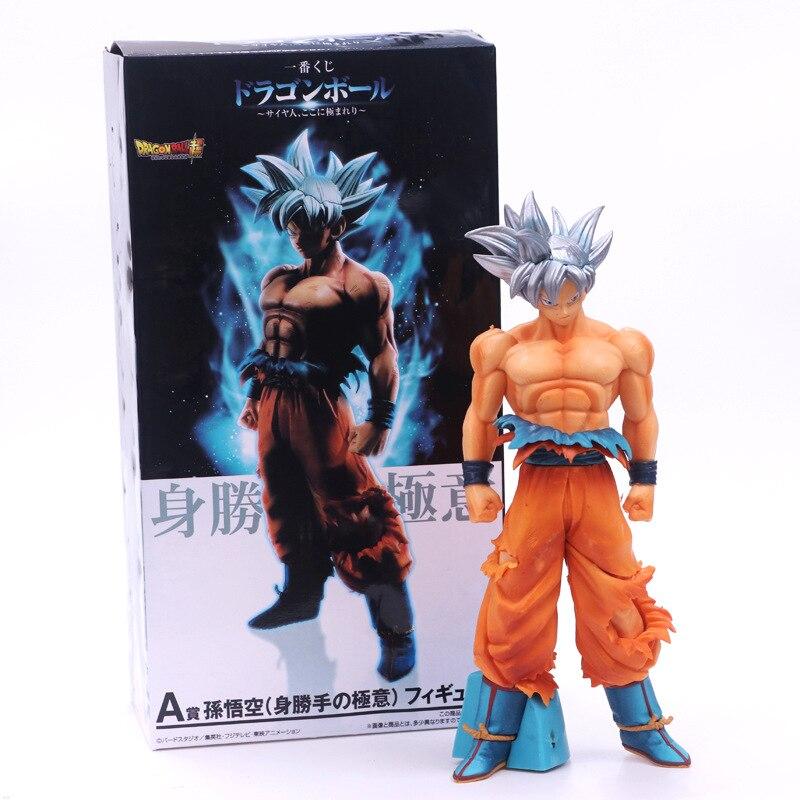 26 cm Dragon Ball Super Saiyan Son Goku modèle d'affichage Jouet Dragon Ball Son Goku Super Ultra Instinct Collection poupée Jouet