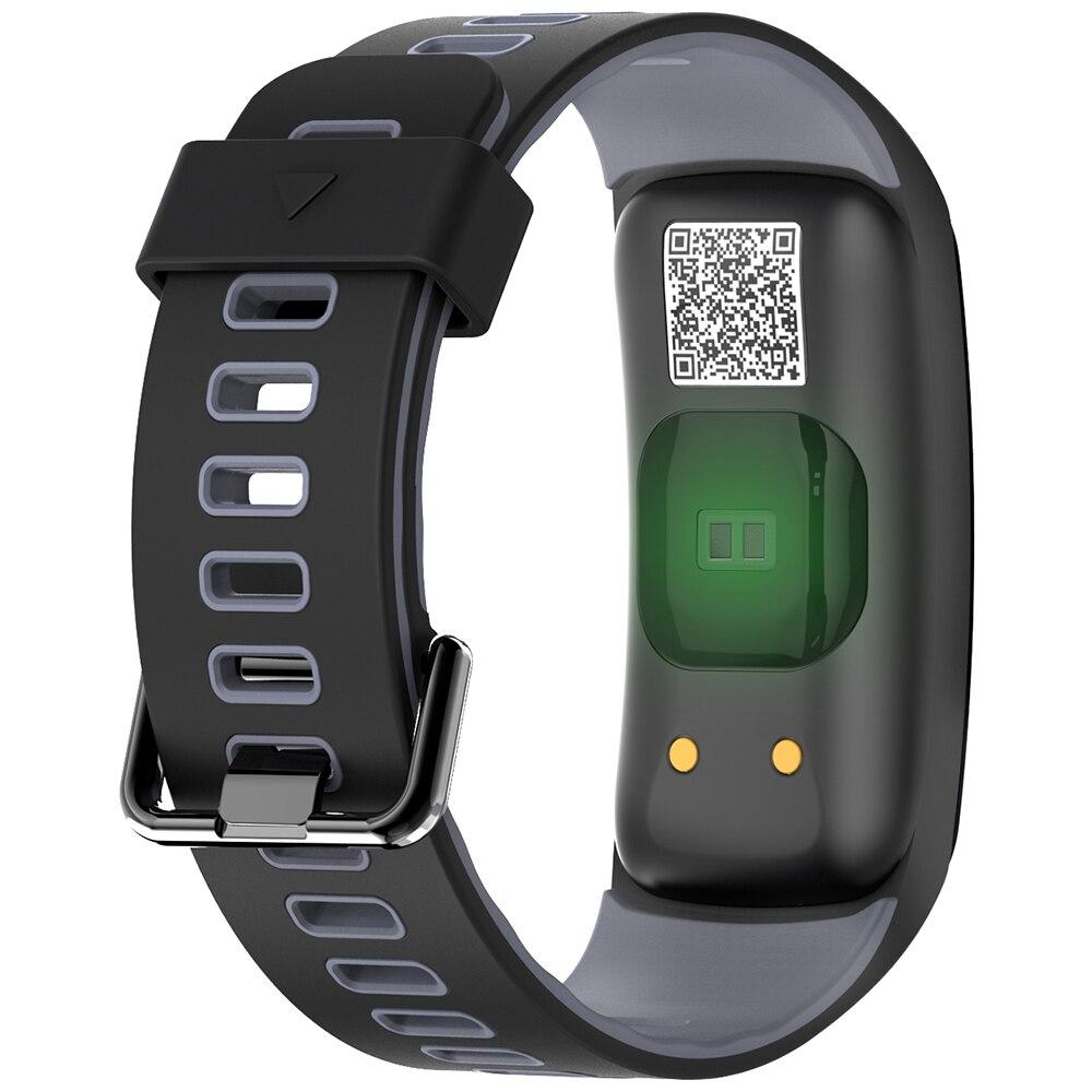 NO.1 F4 Colorful Sports Smart Bracelet IP68 Waterproof Heart Rate / Sleep / Blood Pressure / Blood Oxygen Monitor Smart Bracelet Pakistan