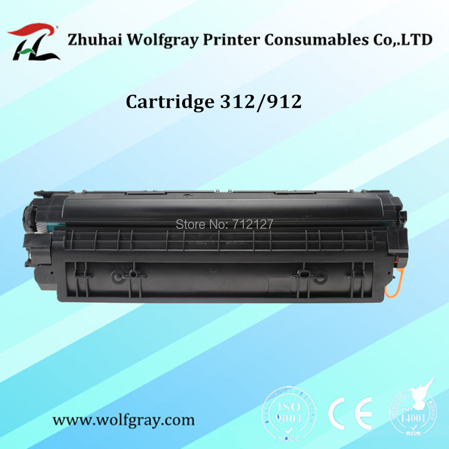 Compatible for Canon 312 912 CRG312 CRG912 CRG-312 CRG-912 toner cartridge LBP3010 LBP 3010 3018 3050 3108 3150
