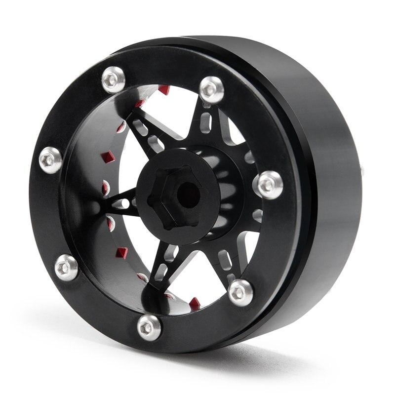 攀爬车-2.2英寸金属轮毂-24号-黑+红X1 (2)