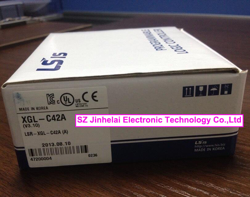 100% New and original  XGL-C42A  LS(LG)  PLC Communication module, RS-422,2ch freeship original simatic s7 1200 plc communication module 6es7241 1ah32 0xb0 cm1241 rs232 6es7 241 1ah32 0xb0 6es72411ah320xb0