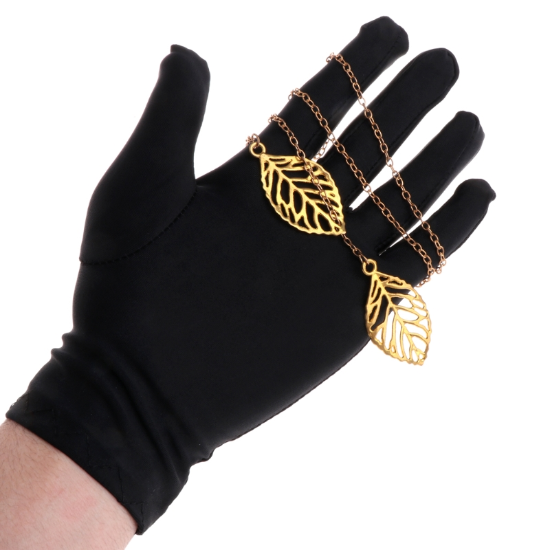 Jewelry Gloves Black Inspection With Soft Blend Cotton Lisle For Work Protection-m15