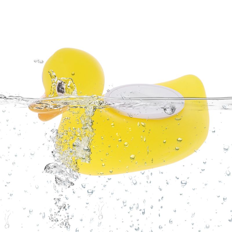 Baby Shower Bath Water Temperature Thermometer Cartoon Yellow Duck Waterproof Water Sensor Test Children Bathing Toy Baby Care