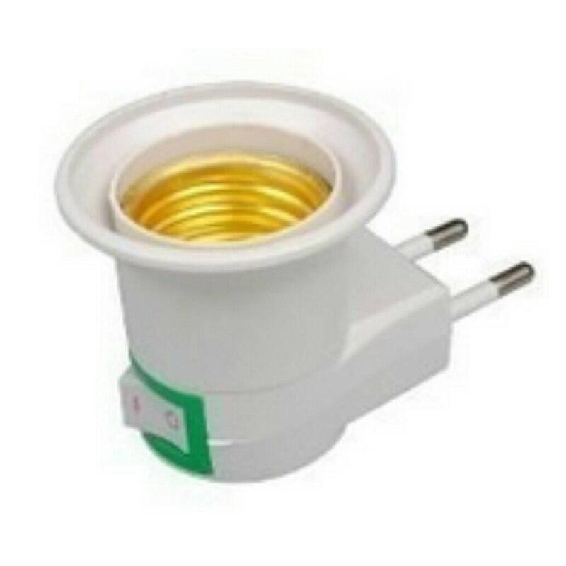 220 В винт рот ночник может наклонять лампа ЕС держатель с выключателем круглый ножной настенный тип для лампы Shadestilting держатель лампы