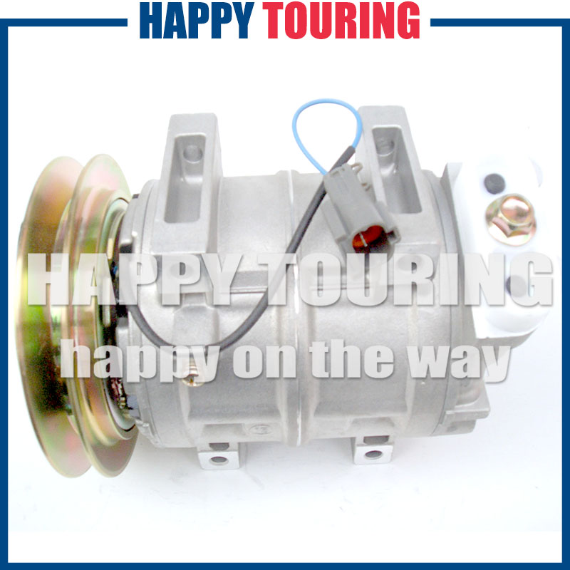 Ac Auto Parts >> Us 120 15 11 Off High Quality Dks15ch Auto Parts Ac Compressor For Excavators Hitachi Excavator Komatsu 506011 6800 506011 7441 506211 5762 In