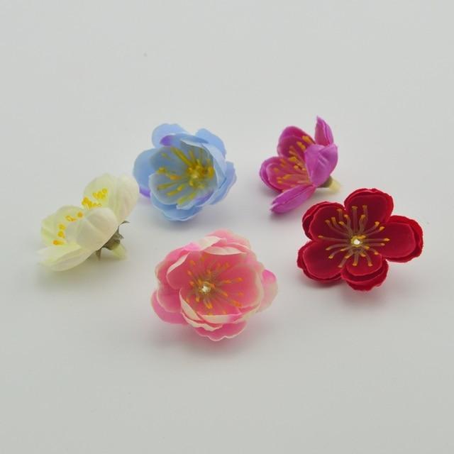 10 cái handmade lụa cherry wedding banquet đảng trang trí trang trí đám cưới quà tặng đám cưới clip nghệ thuật nghệ thuật nhân tạo hoa