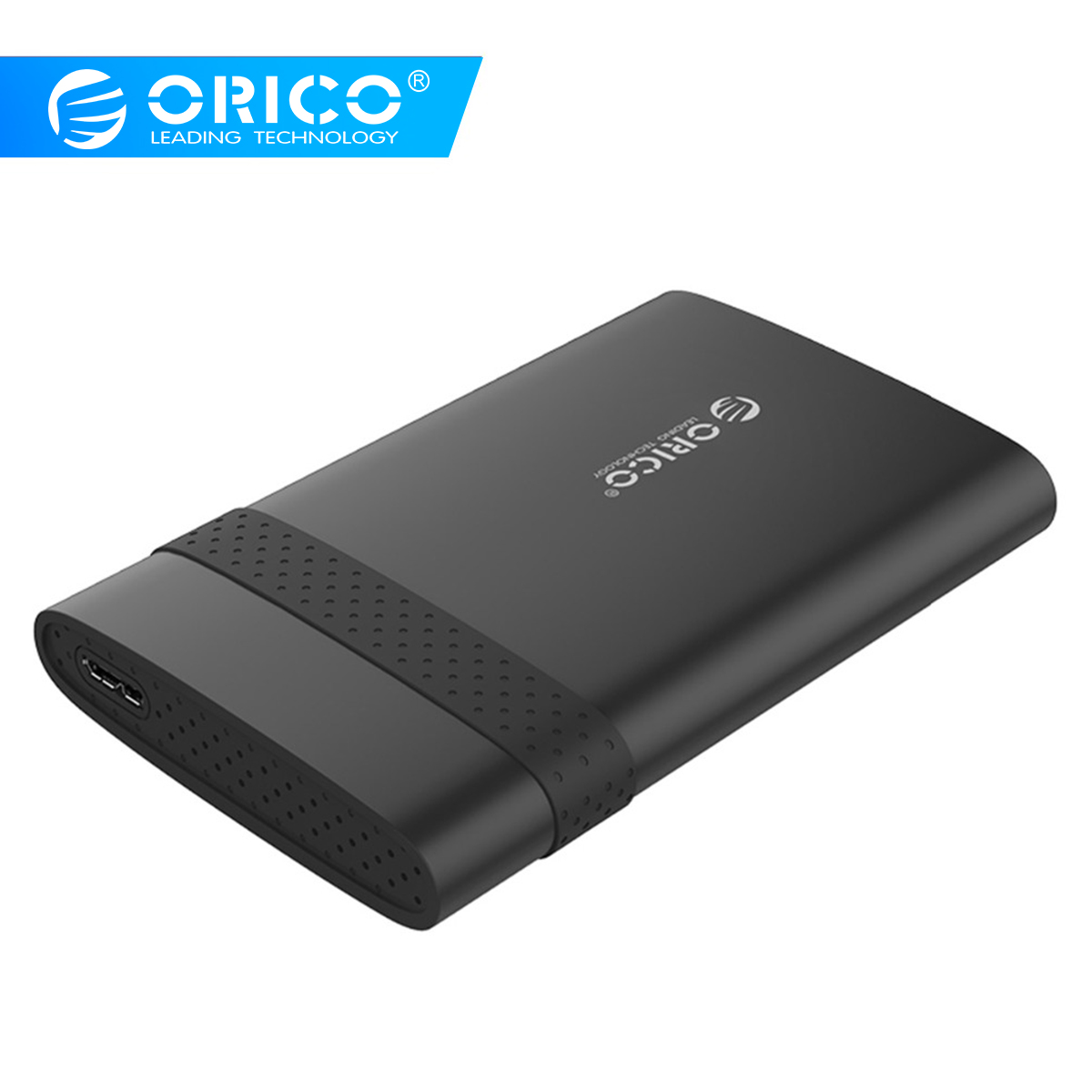 ORICO 2TB SATA To USB 3.0 2.5 Inch HDD Case SSD Disk Box With Rubber USB3.0 Hard Drive Enclosure Tool Free For 9.5mm Below HDD