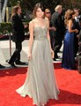 Selena Gomez Creative Arts Emmy's A-line Sweetheart Beads Sequin Long Grey Evening Red Carpet Celebrity Dress  Fashion CE50