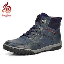 2016 mode Winter Stiefel Männer Freizeitschuhe Männer Warme Pelz Männer Stiefel Bequem Männer Stiefel Handgefertigte Schuhe Größe 39-46 SR3212