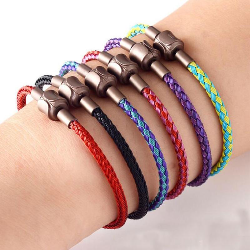 Wholesale 10pcs Metal Bracelet Gold Clasp Bracelet Colourful Bracelet