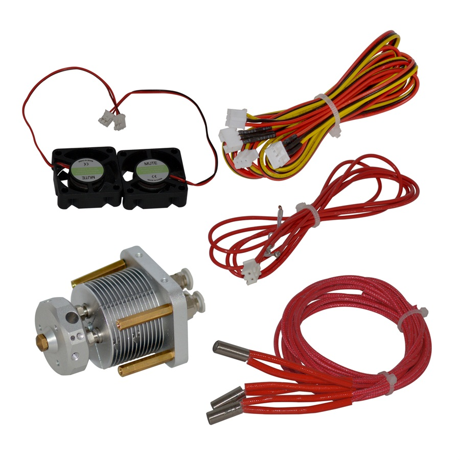 3 in 1 out hotend kit enhance the printing performance of Kossel or Rostock 3D printers