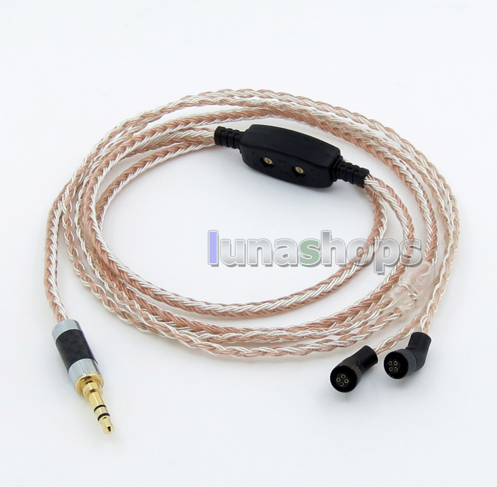 3.5mm 16 Cores OCC Silver Plated Mixed Headphone Cable For AKR03 Roxxane JH Audio JH24 Layla Angie AK380 AK240 angie queen естественный цвет 16 дюймов