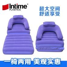 New Folding Inflatable Sofa Multipurpose inflatable sofa bed sheet sofa flocking upset a beanbag chair