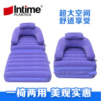 New Folding Inflatable Sofa Multipurpose Inflatable Sofa Bed Sheet Sofa Flocking Upset A Beanbag Chair