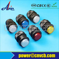 NS153 R16-503BD 16MM Momentary ON small push button illuminated red push button switch