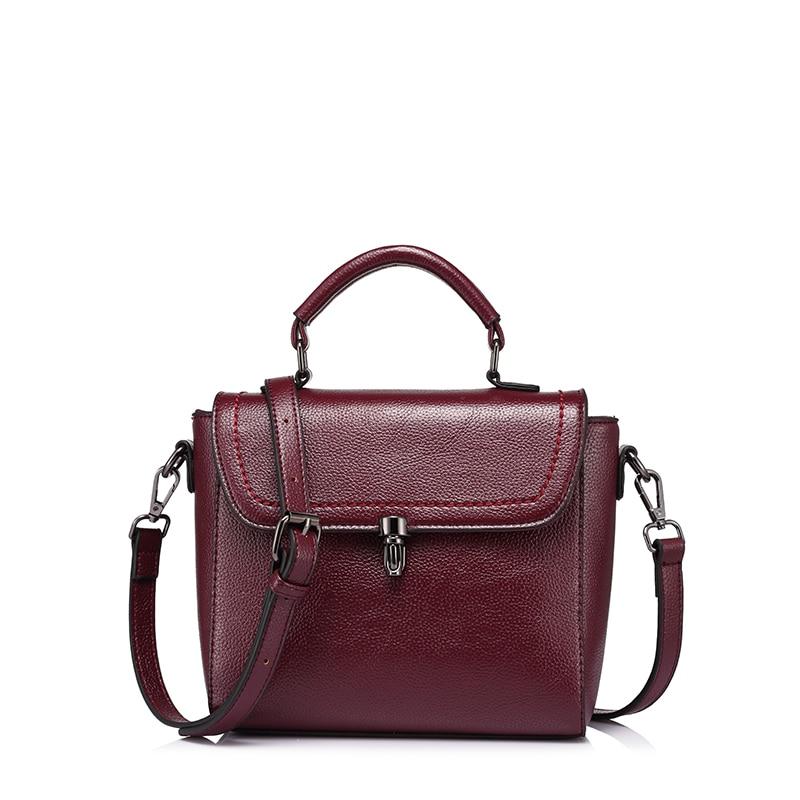 Realer Messenger Bag For Women Female Handbags Tote Shoulder Crossbody Bags Ladies Designer Handbag Solid PU Evening Bag
