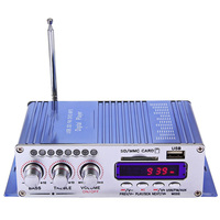 Hi Fi Digital Auto Car Stereo Power Amplifier LED Sound Mode Audio MP3 Music Player For