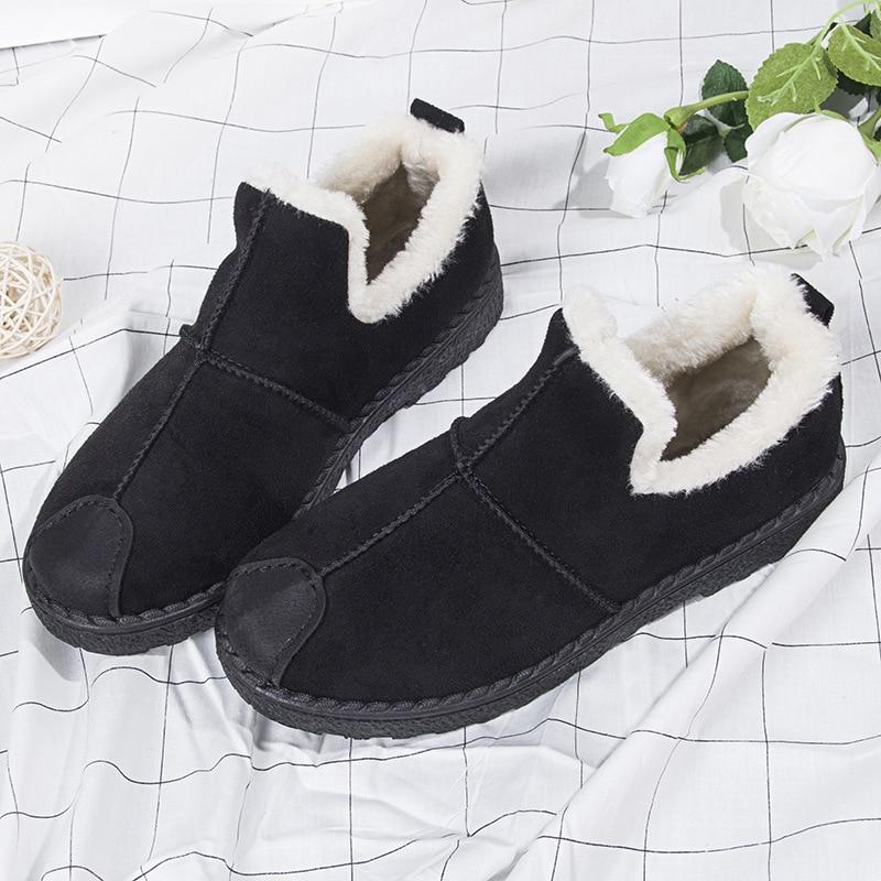 Nuevo 2 Mantener 3 1 Para Mujeres Planos Estudiantes 2018 Antideslizante Zapatos Aidenkid Coreanos 8003 Los Algodón 4 La Más Nieve De Botas Invierno 5Tf1Rx
