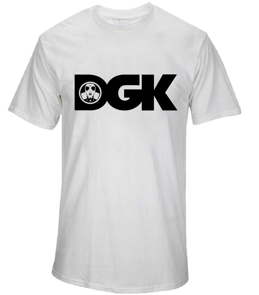 Fashion Hip Hop DGK T Shirts Men Street Skateboard Printed T Shirt Tops  Short Sleeve Casual 195b6e24490