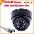 Новый ахд камера 720 P / 960 P видеонаблюдения 2000TVL AHDM AHD-M камеры HD 1MP / 1,3-мегапиксельной камерой ночного видения крытый камера ик-cut фильтр 1080 P объектив