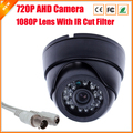 Nueva AHD cámara 720 P / 960 P de seguridad CCTV 2000TVL AHDM AHD-M HD 1MP / 1.3MP de visión nocturna de interior cámara IR Cut Filter 1080 P lente