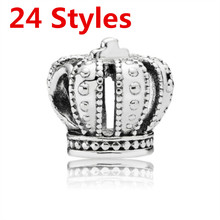 NEW Retro Silver DIY Jewelry Charms Beads Fit Pandoraa Bracelet & Necklaces Pendant Authentic Beads Jewelry Making Women Gifts