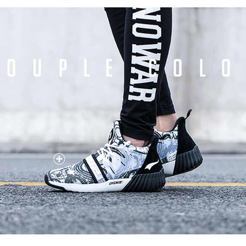 ONEMIX kadın koşu ayakkabıları kadınlar 2020 gösterim açık spor botları siyah beyaz güzel Trend atletik eğitmenler yürüyüş Sneakers