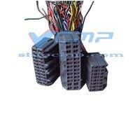 EX200-5 Escavadeira Controlador Wireharness  Controladores de Plug para Hitachi