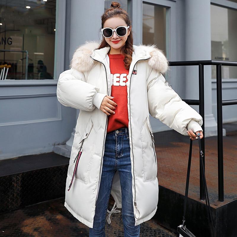 Long Capuchon Parkas Épaissir 2018new Grande Survêtement Dames Vs012 white red Hiver Coton Black Femmes Femelle gray À Chaud Lâche Taille Veste armygreen Pardessus Lady 7r7aOnqwS