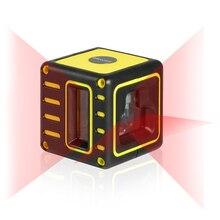 Firecore F212R мини Портативный 3 линии лазерный уровень 2V1H самовыравнивание (4 градусов) Горизонтальные и вертикальные линии