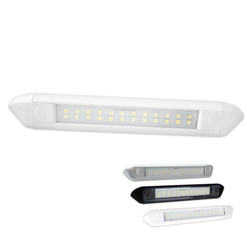 Cool White 12V DC LED Awning Light 250MM LED Lamp Waterproof Aluminum light strip Outdoor Lighting