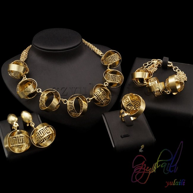 china imported Fashion Jewelry Set Bridal Party Jewelry Sets free shipping gold platting jewellery free shipping china manufacturer sell jewelry set italian gold color jewelry sets bridal elegant jewelry set