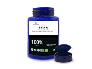 Image 2 - טבעי BCAA 100 pcs/בקבוק 100% bcaa אבקה