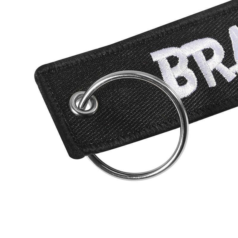 3 CHIẾC Xe Mới Móc Khóa BRAAAP Thêu móc chìa khóa Xe Máy và Ô Tô Quà Tặng Thẻ Chìa Khóa Fobs Giá Đỡ OEM Móc Chìa Khóa Móc Khóa BIJOUX