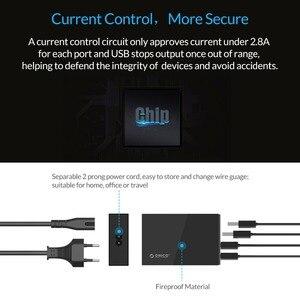 Image 3 - ORICO 4/5 יציאת QC2.0 מהיר תשלום 2.0 חכם שולחן עבודה נייד טלפון USB מטען אוניברסלי מהיר מטען עבור סמסונג iPhone x 8 בתוספת