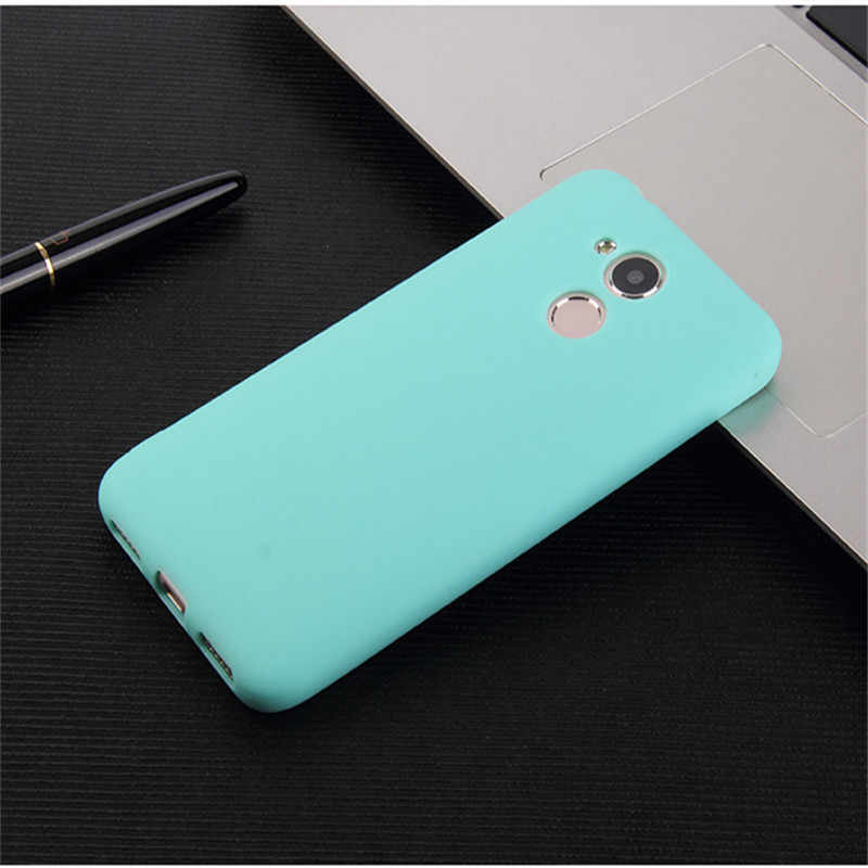 Coque Case On Honor 6c Pro Cases For Huawei Honor 6c Pro Back Cover 6 C PRO Jmm L22 Silicone TPU Soft Shockproof Black Blue Cute
