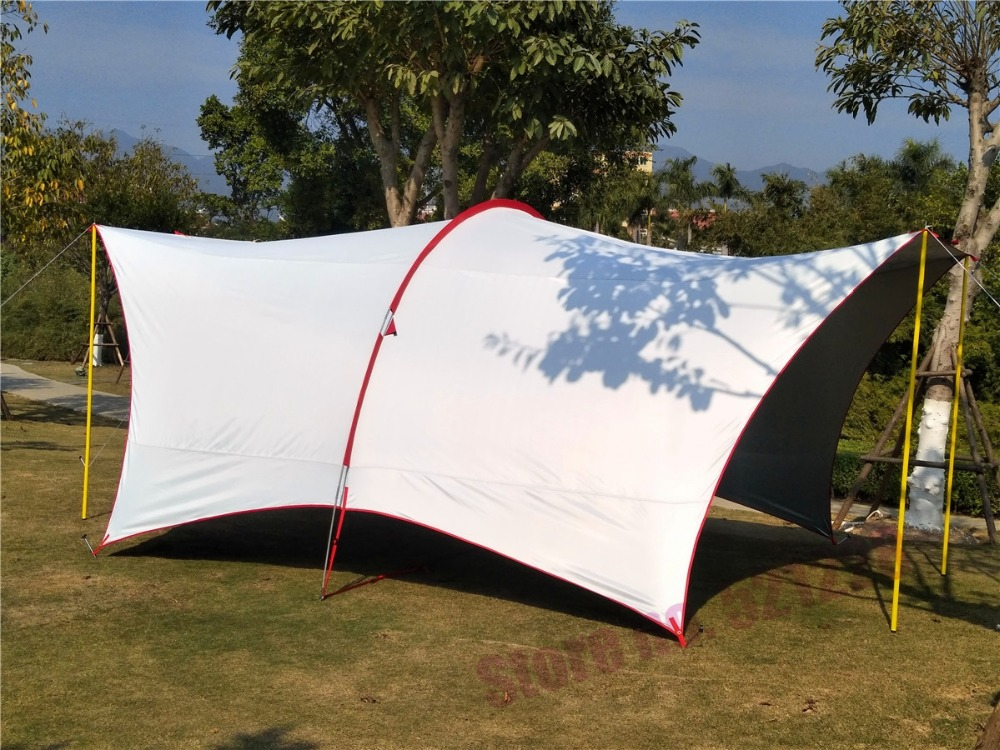 UV 4 5 6 Person Habe Fishing Sunshade Beach Awning Party Pergola Travel Driving Park Trekking Family Relief Outdoor Camping Tent alltel hot sale 5 6 8 person 1 layer 4 season automatic park bbq family party hiking fishing beach outdoor camping tent