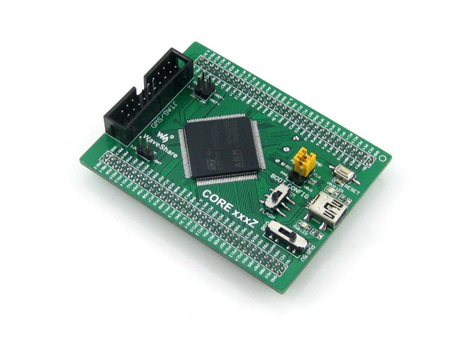 module Core407Z STM32F407ZxT6 STM32F407 STM32 ARM Cortex-M4 Evaluation Development Core Board with Full IOs module xilinx fpga xc3s500e spartan 3e evaluation development core board xcf04s flash support jtag core3s500e
