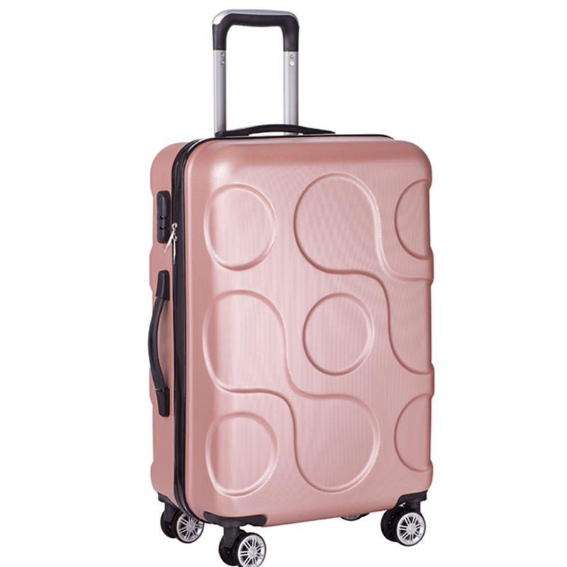 Travel business ABS trolley case students Travel waterproof luggage rolling suitcase Boarding Password box Mute Cardan wheel 2024 inches combination lock trolley case abs students women travel frosted luggage rolling suitcase men business boarding box