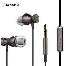 2017 Novo com Microfone AUX3.5 mm Noise-isolamento Fones De Ouvido Fones De Ouvido Fones de Ouvido fone de ouvido Para Telefones Celulares iPhone PC Com Microph