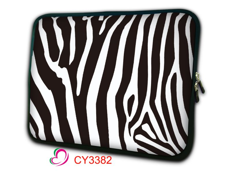 Laptop Sleeve Zebra Bag Women Men Notebook Sleeve Carry Bags for Lenovo Laptop Bag Black 13 15 17 12 14 15.6 inch