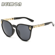 Fashion Sunglasses Women Luxury Brand Designer Classic Skull Sun Glasses For Ladies UV400 Anti-Reflective Female  de RS102