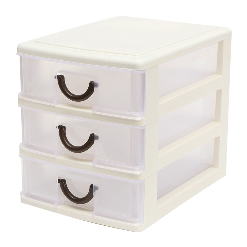 Dropshipping Drawer Durable Plastic Office Table Desktop Debris Cosmetic Drawer Style Holder Storage Box SMJ