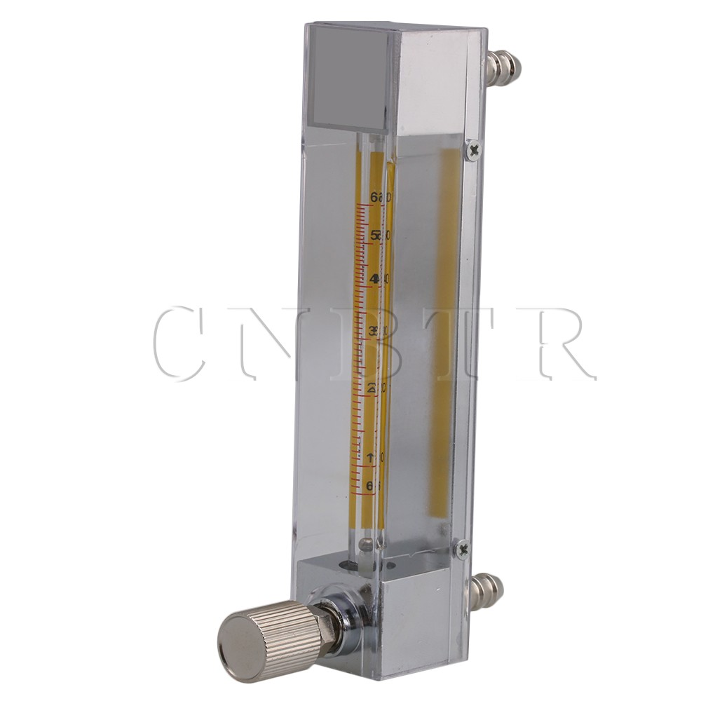 CNBTR Model LZB-3 6-60ml/min Flow Meter for Liquid Water Gasoline Measument with Control Valve lzb 2 glass rotameter flow meter with control valve for liquid and gas conectrator it can adjust flow